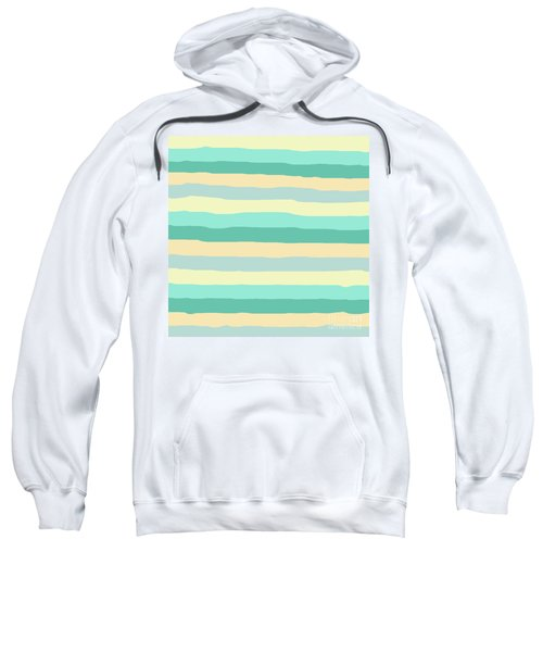 lumpy or bumpy lines abstract and summer colorful - QAB271 Sweatshirt