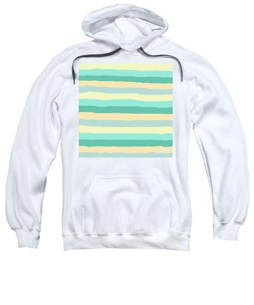 lumpy or bumpy lines abstract and summer colorful - QAB271 Sweatshirt