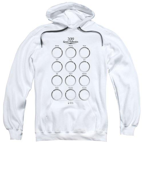 Lunar Calendar 2019 Sweatshirt