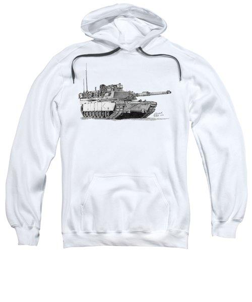 M1a1 D Company Commander Tank Sweatshirt