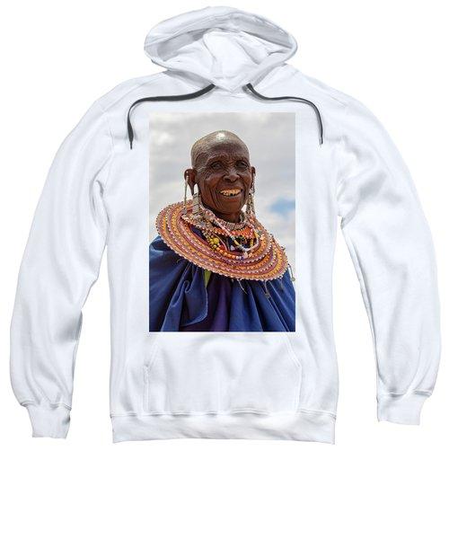 Maasai Woman In Tanzania Sweatshirt