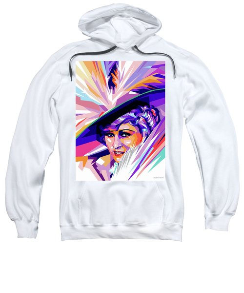 Mae West Pop Art Sweatshirt