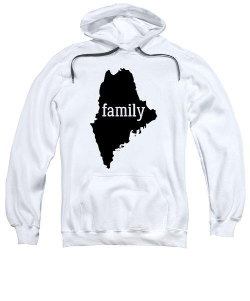 Maine Cool Gift Family State Shirt Dark Sweatshirt