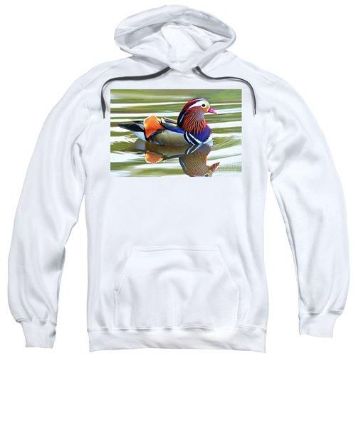 Mandarin Duck- Central Park 7 Sweatshirt