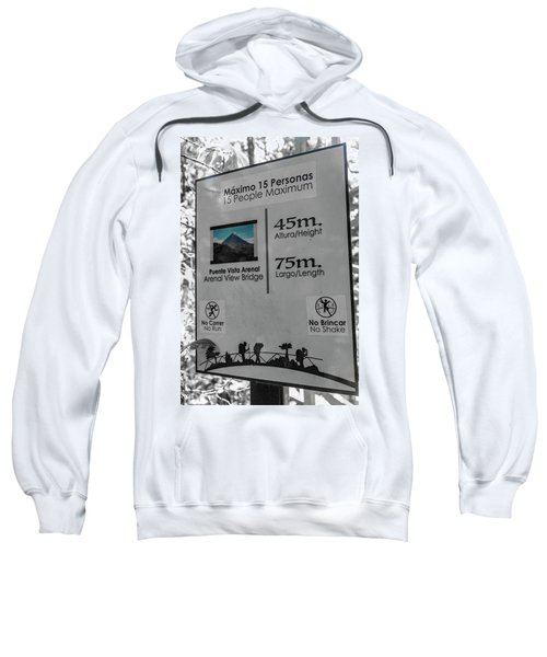 Manuel Antonio Jungle Arenal Sign Sweatshirt