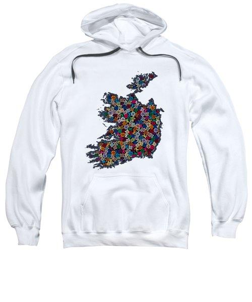 Map Of Ireland-1 Sweatshirt
