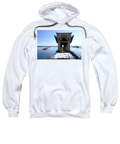 Marquette Ore Dock Cathedral Sweatshirt