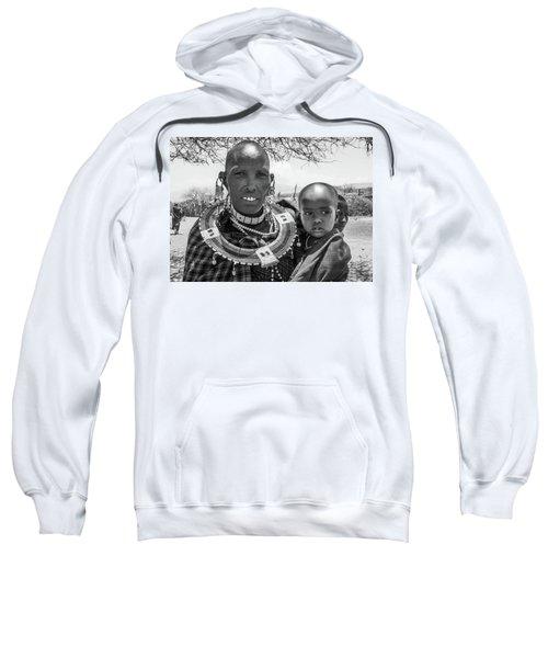 Masaai Mother And Child Sweatshirt