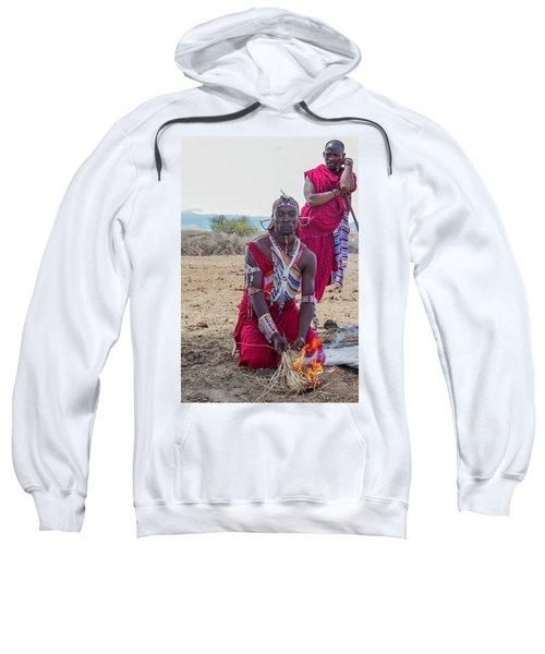 Maasai Warrior Sweatshirt