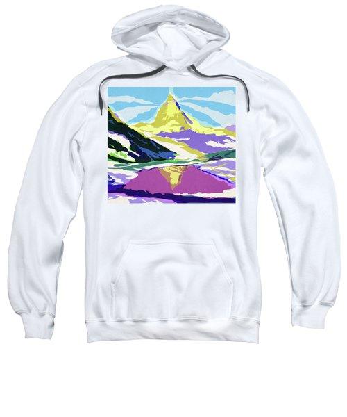 Matterhorn Snow Melt Sweatshirt