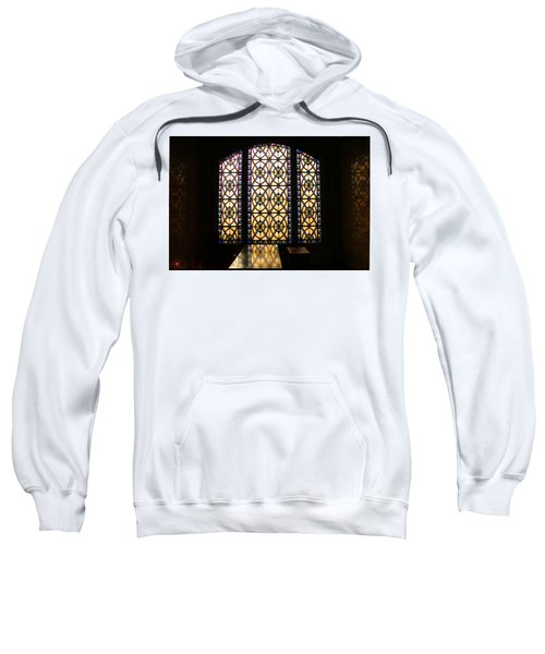Mausoleum Stained Glass Sweatshirt
