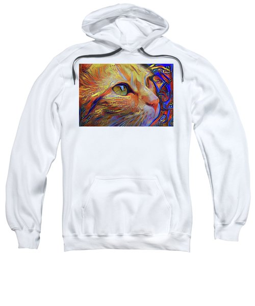 Max The Ginger Cat Sweatshirt