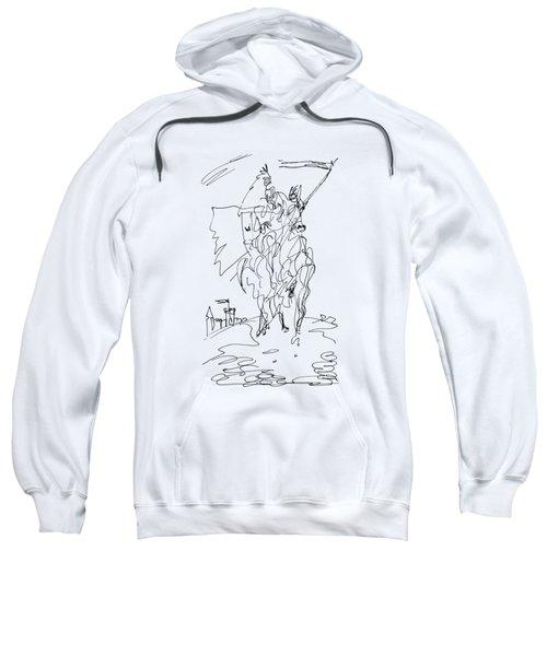 Medieval Rider Sweatshirt