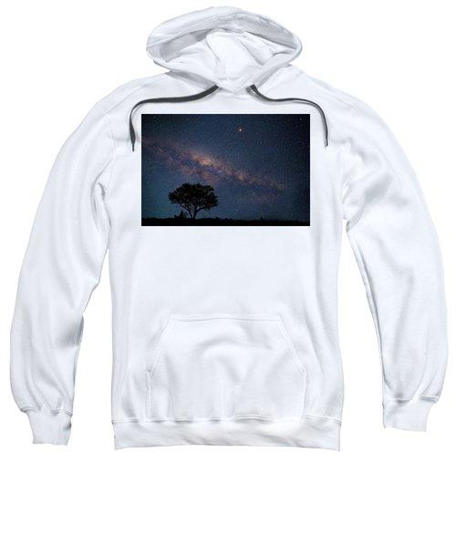Milky Way Over Africa Sweatshirt