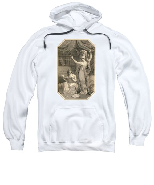Minerva Directing Study To The  Attainment Of Universal Knowledge Sweatshirt