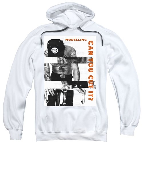 Modelling Can You Cut It? Sweatshirt