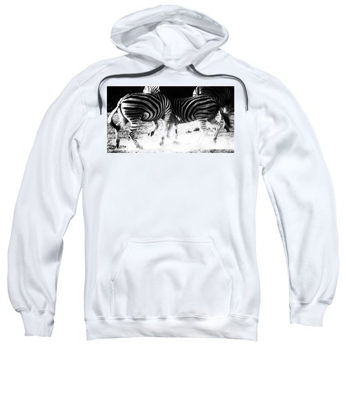 Monochrome Motion Sweatshirt