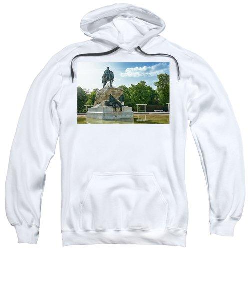 Monument To General Arsenio Martinez Campos In Madrid, Spain Sweatshirt