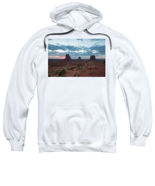 Monument Valley Before Sunrise Sweatshirt