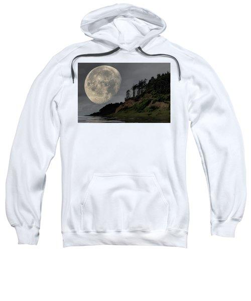 Moon And Beach Sweatshirt