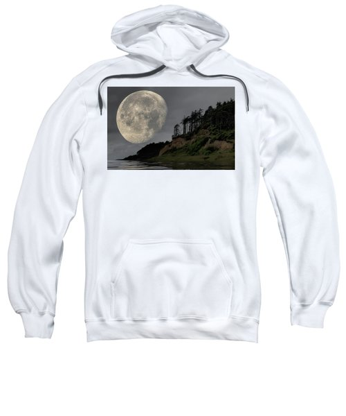 Moon And Beach Sweatshirt