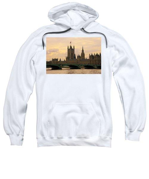 Morning At Westminster Sweatshirt
