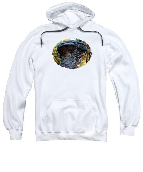 Mushroom Rock Endures Sweatshirt