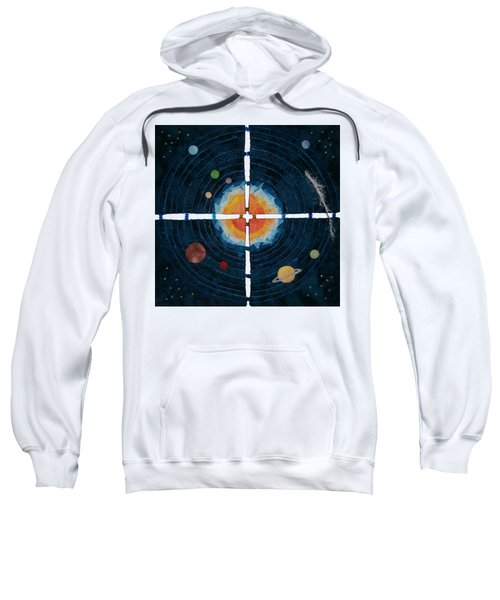 My Very Educated Mother  Just Said Uh-oh, No Pluto Sweatshirt