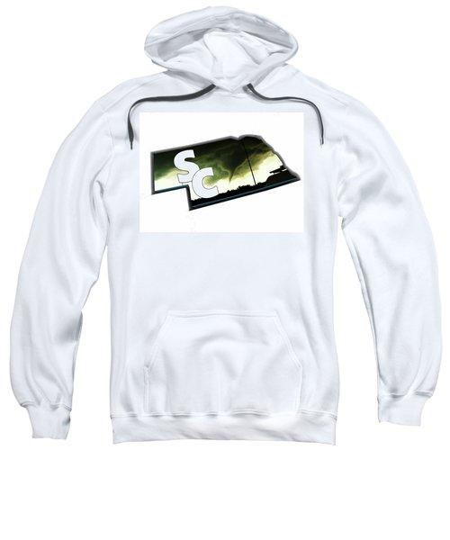 Nebraskasc Logo White Sweatshirt
