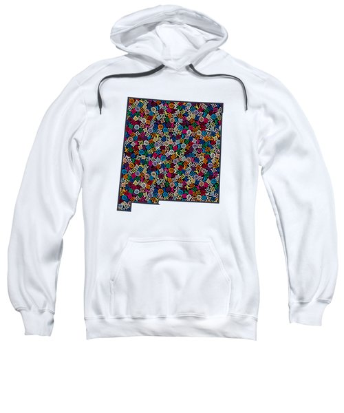 New Mexico Map - 1 Sweatshirt