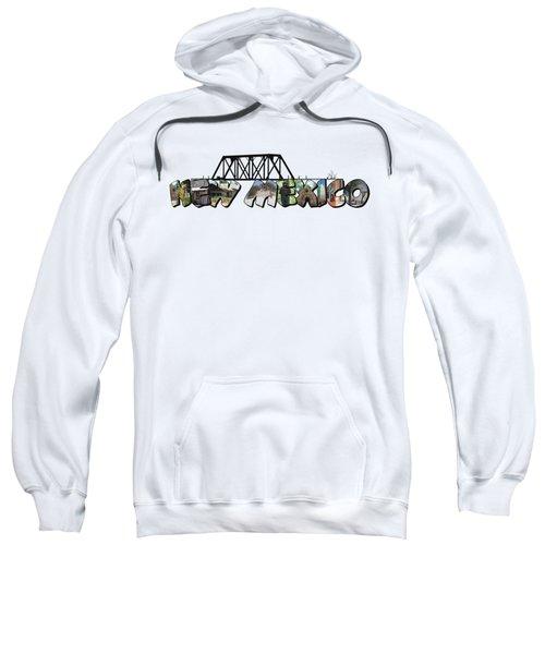 New Mexico Big Letter Sweatshirt