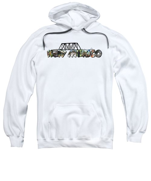 New Mexico Big Letter Sweatshirt