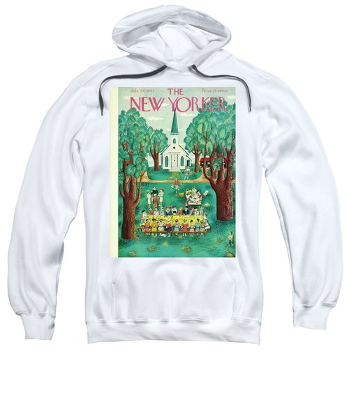 New Yorker July 24th 1943 Sweatshirt