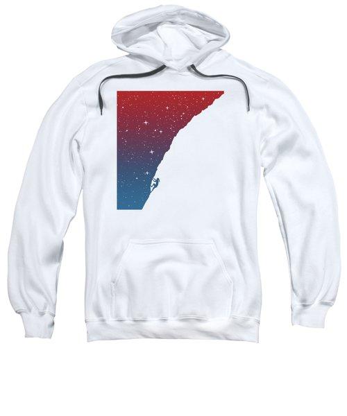 Night Climbing II Sweatshirt