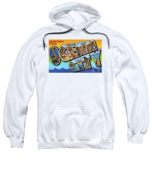 Ocean City Greetings Sweatshirt