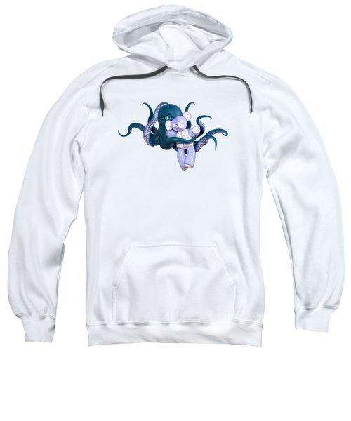 Octopus And Purple Bear Sweatshirt