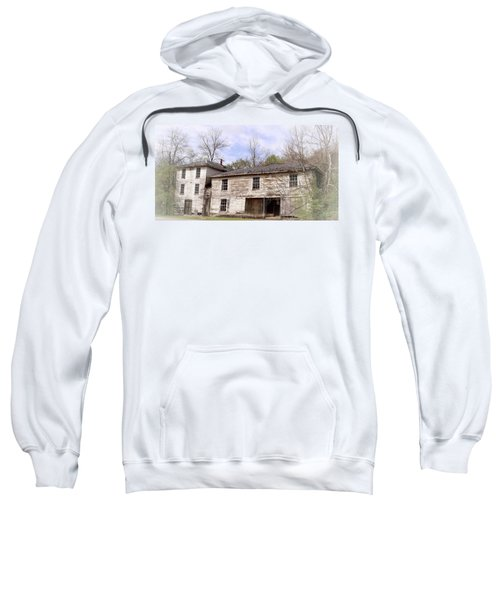 Old Abandoned House In Fluvanna County Virginia Sweatshirt