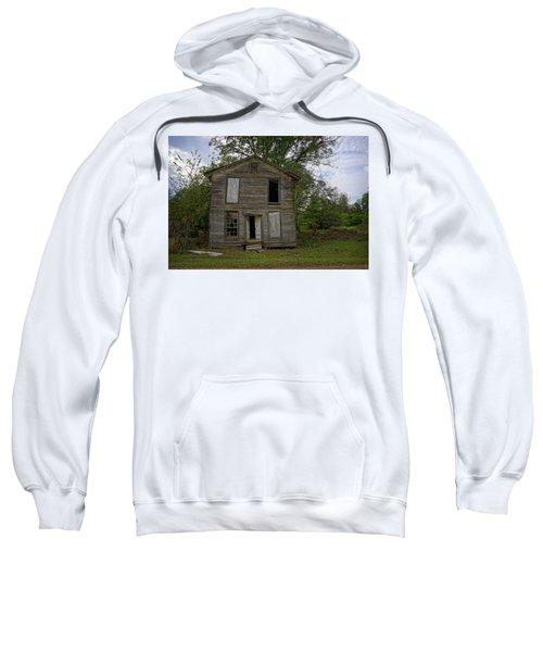 Old Masonic Lodge In Ruins Sweatshirt