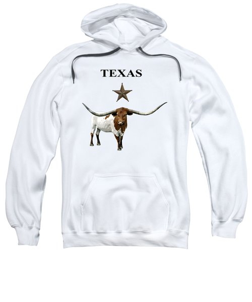 Old West Texas - Lone Star State - Texas Longhorn - T-shirt Sweatshirt
