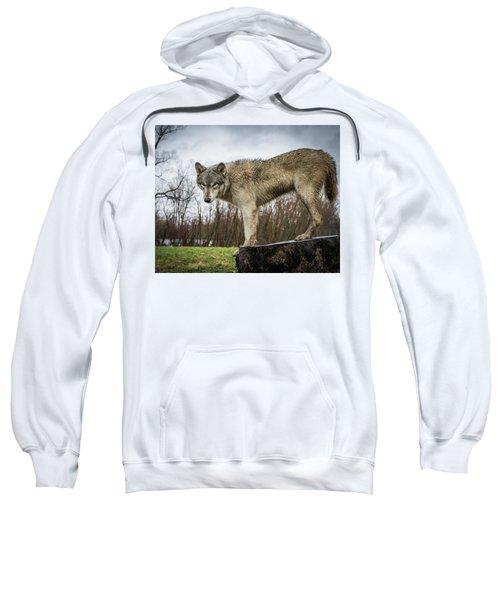 On A Slant Sweatshirt