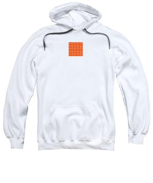 Orange Angles Sweatshirt