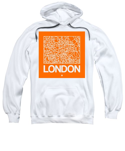 Orange Map Of London Sweatshirt