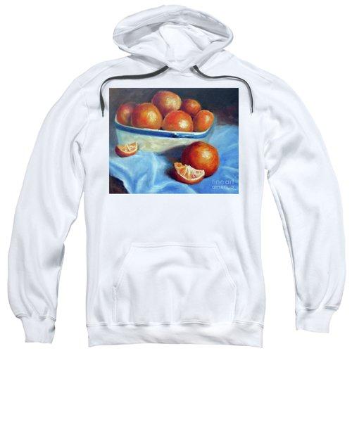 Oranges And Blue Sweatshirt