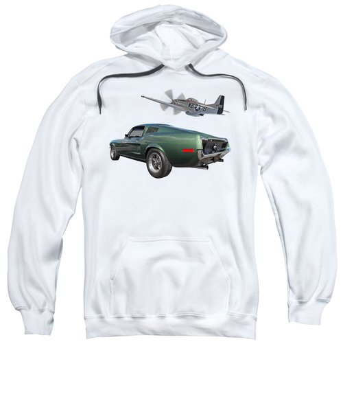 P51 With Bullitt Mustang Sweatshirt