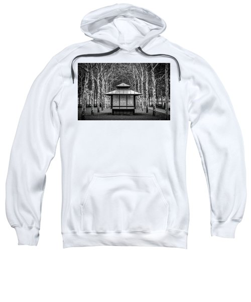 Sweatshirt featuring the photograph Pagoda by Steve Stanger