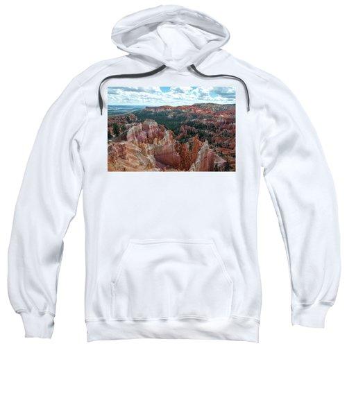 Panorama  From The Rim, Bryce Canyon  Sweatshirt