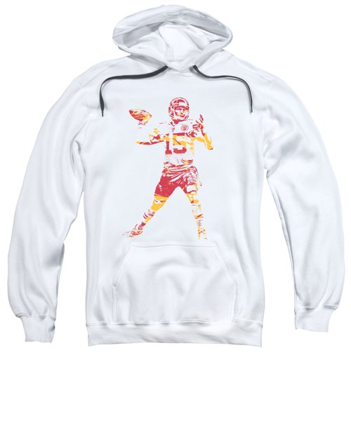 Patrick Mahomes Kansas City Chiefs Apparel T Shirt Pixel Art 1 Sweatshirt