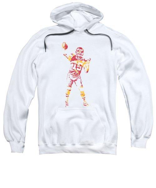 Patrick Mahomes Kansas City Chiefs Apparel T Shirt Pixel Art 2 Sweatshirt