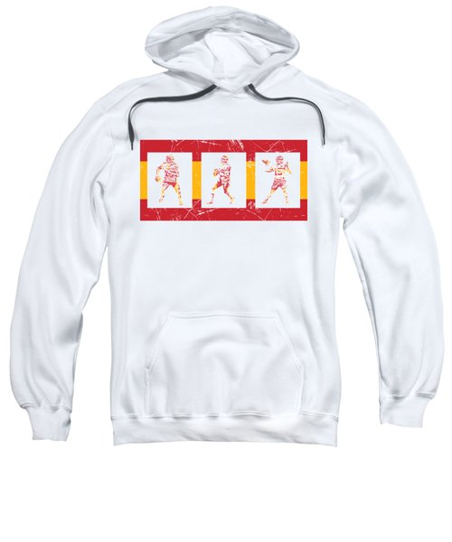 Patrick Mahomes Kansas City Chiefs Pixel Art T Shirt 10 Sweatshirt