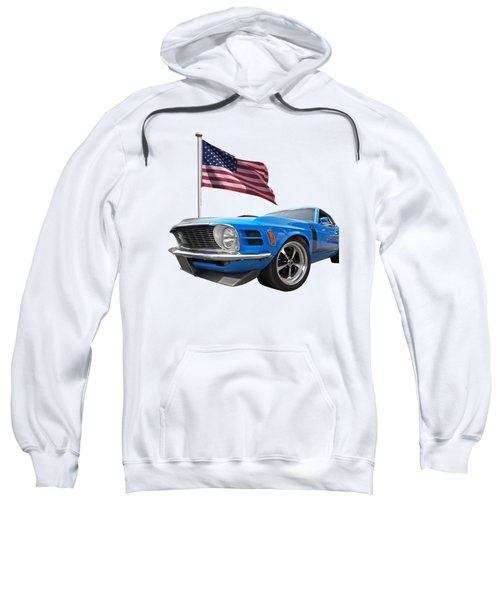 Patriotic Boss Mustang Sweatshirt